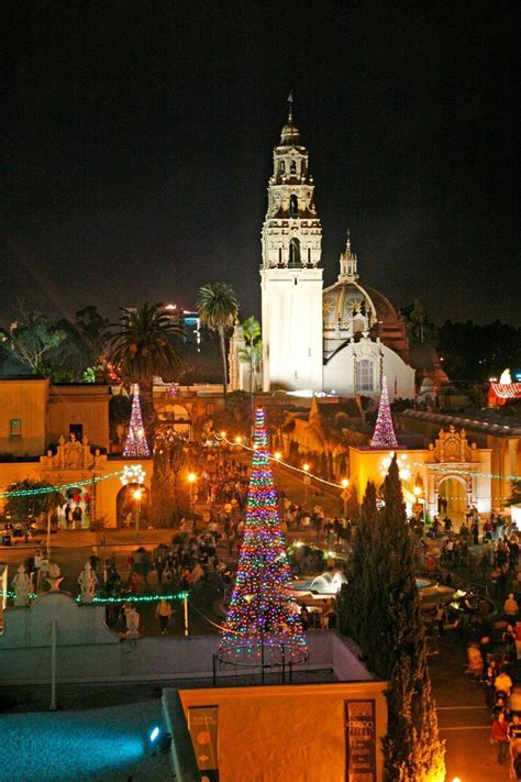 san diego tree lighting balboa park tree lighting lights san diego