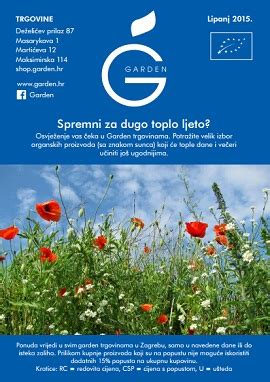 garden katalog garden katalog lipanj 2015