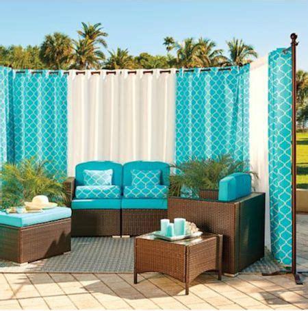outdoor curtain rod ideas best 25 outdoor curtain rods ideas on pinterest drop