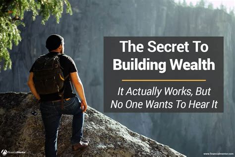 wealth building secrets from the bible the believer s journey to a faithful generous and financially free books the secret to building wealth that actually works but no