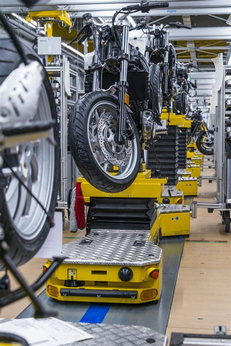 Bmw Motorcycle Assembly Berlin Plant by Driverless Transport System Now In Use At Bmw Motorcycle