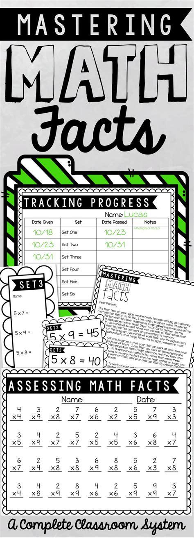Parent Letter Math Facts 201 best images about multiplication activities on