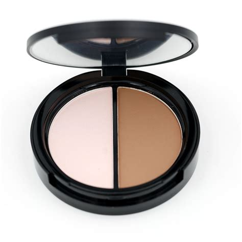 8 Colour Contour No 1 makeup highlighter bronzer press powder 1 pcs two color highlight and contour palette net