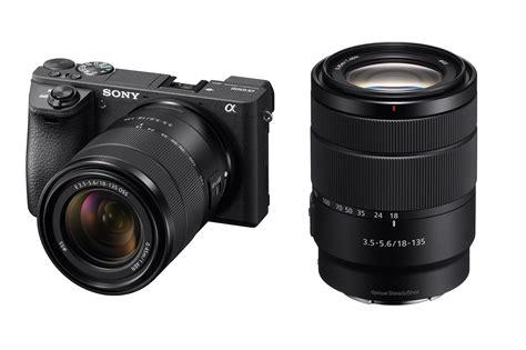 new lens new sony sony e 18 135mm oss lens is this the start of