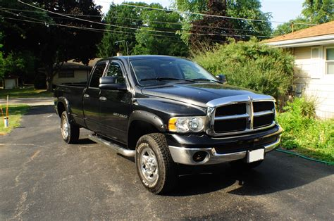 2500 dodge ram hemi 2003 dodge ram black 2500 hemi heavy duty slt 4x4 sale