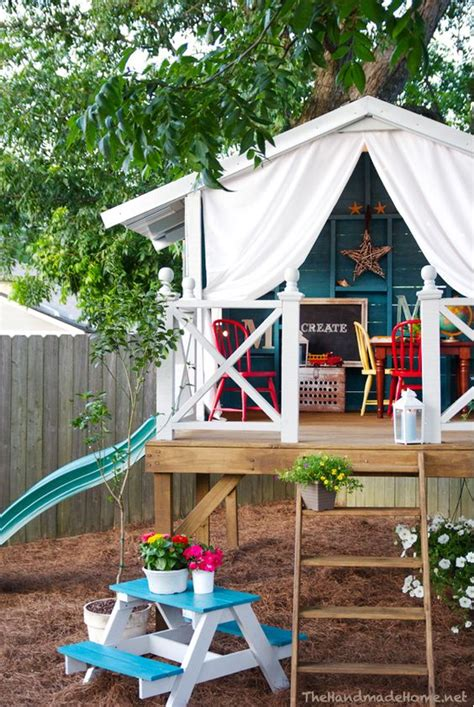 Backyard Fort Plans by 1000 Ideas About Outdoor Forts On Play Fort