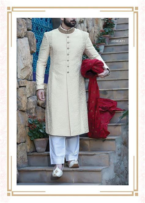 J.Couture Latest Men Sherwanis Wedding Dresses Collection
