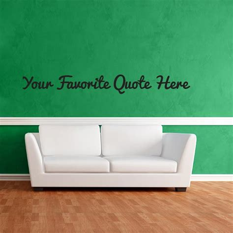 custom wall sticker quotes custom quote wall decal wall decal world