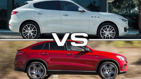 Maserati Vs Mercedes maserati levante vs mercedes gle coupe