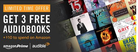 Can You Use Amazon Gift Cards On Audible - free 10 amazon gift card when you sign up for free audible trial le chic geek