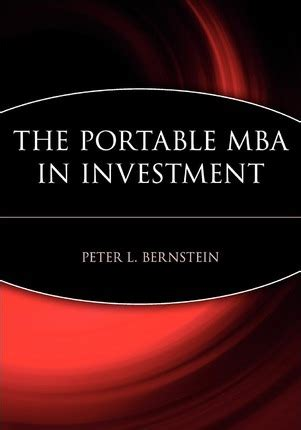 The Portable Mba In Entrepreneurship Studies Pdf by The Portable Mba In Investment L Bernstein