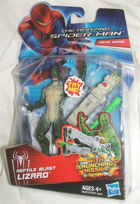 Hasbro The Amazing Lizard hasbro marvel amazing spider series reptile blast lizard figure spider