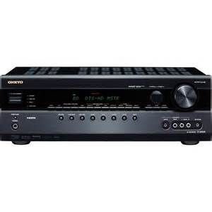 home audio receiver onkyo tx sr508 7 1 channel home theater receiver tx sr508 b h
