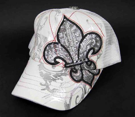 Trucker Hat Universitas Indonesia Niron Cloth jersey shore snooki jwoww pink snap back white fleur de lis mesh trucker hat
