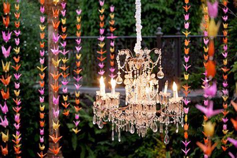 Origami Crane Decoration - wedding trends hanging wedding decor part 2