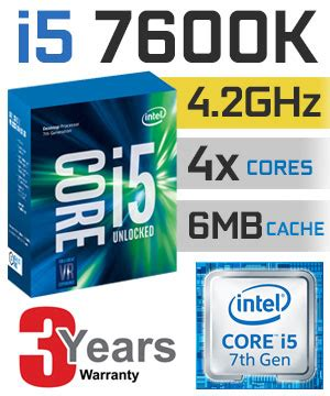 Ntel I5 7600k 3 8ghz Up To 4 2ghz Cache 6mb Box Soc intel i5 7600k processor free shipping south africa