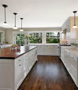 White Kitchen Cabinets With Butcher Block Countertops Gallery For Gt Butcher Block Countertops White Cabinets