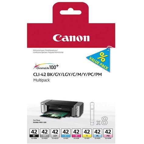 Canon Ink Cartridge Cli 42 Black For Pro 100 Canon Cli 42 Original 6834b010 Ink Cartridge Multipack