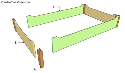 raised flower bed plans raised flower bed plans free garden plans how to build garden projects