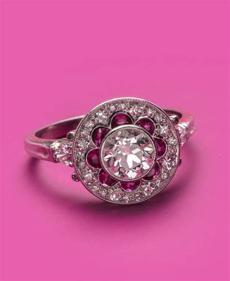 1000 ideas about ruby engagement rings on