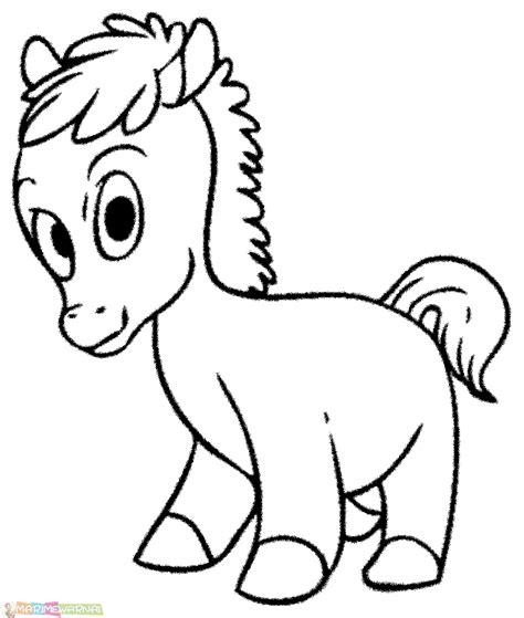 gambar sketsa hewan terlengkap  marimewarnaicom