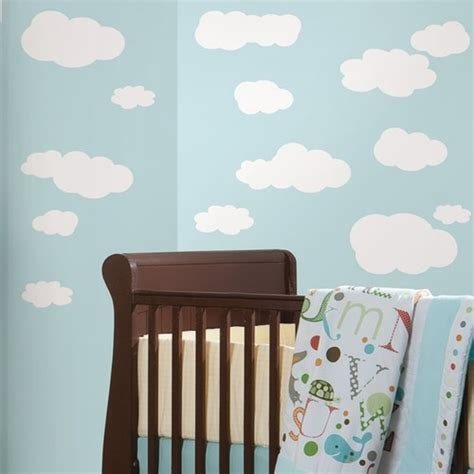 roommates wall stickers uk roommates white clouds wall stickers