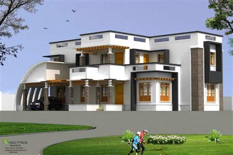 4 bhk modern contemporary home 1800 square kerala home design and floor plans 2800 sq ft 4 bhk contemporary kerala house design