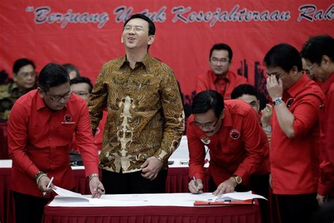 ahok indonesia news in latest survey ahok still leading but insecure city