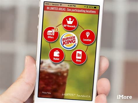 king app burger king s new app will let you buy a whopper with