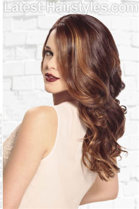 chestnut crush warm brunette base honey caramel highlights 20 enchanting winter hair colors you must try this year