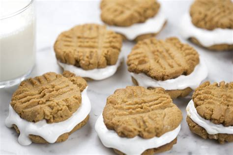peanut butter on the wall marshmallows in the microwave memories of raising six hannas in gahanna books peanut butter marshmallow sandwich cookies preppy kitchen