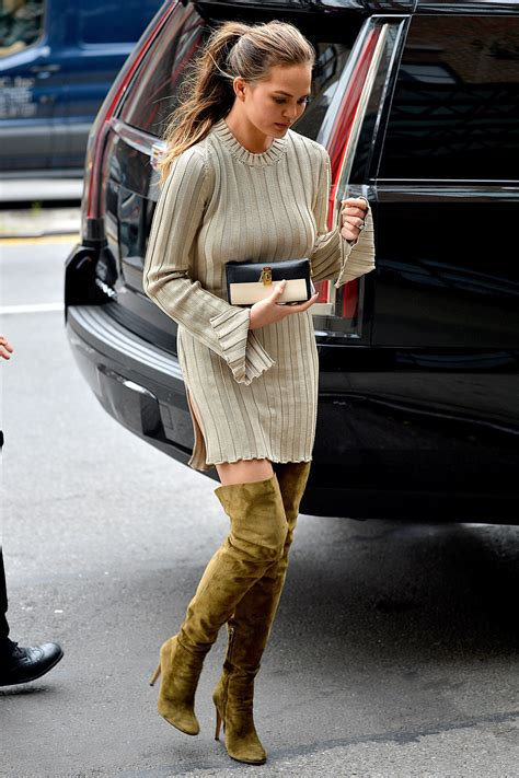 Home Decor On A Budget Blog by Cozy Chic Chrissy Teigen S Sweater Dress And Over The