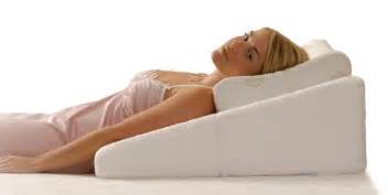contoured bed wedge angled sleeping wedge comfort