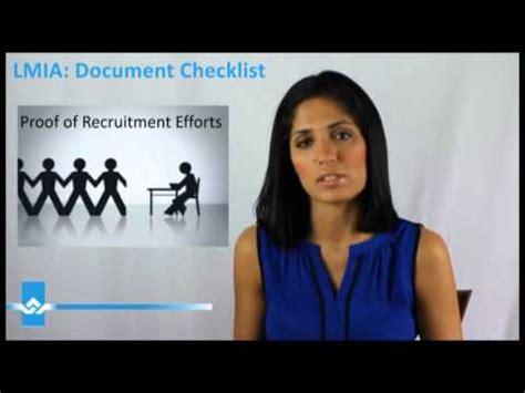 Lmia Document Checklist lmia document checklist