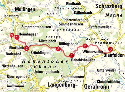 Motorradtouren Jagsttal Kochertal by Auf Die Hohenloher Ebene