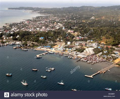 Sarung Papua aerial view of port area of sorong papua province indonesia no pr stock photo 77806847 alamy