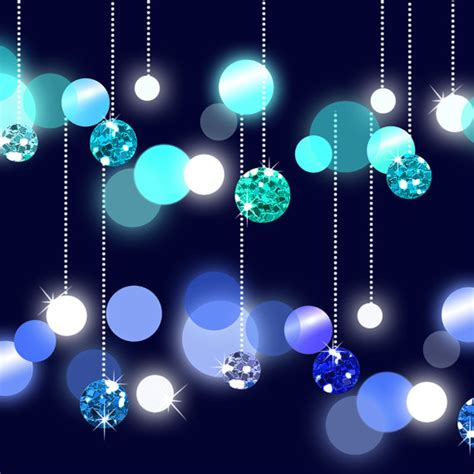 dangling lights clip art glitter bokeh string lights six