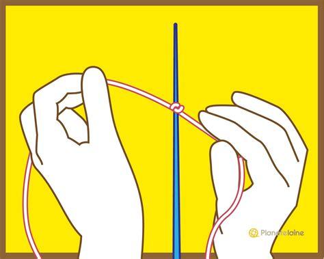 Monter Mailles Tricot apprendre a tricoter monter les mailles