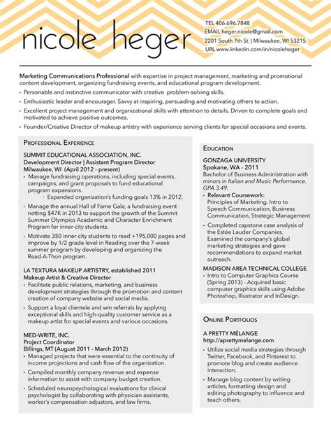 Resume Tips Marketing 30 Best Images About Resume Sles On Resume Tips Creative Resume And Functional