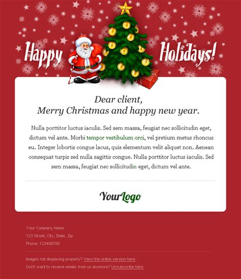 creating perfect holiday newsletter small