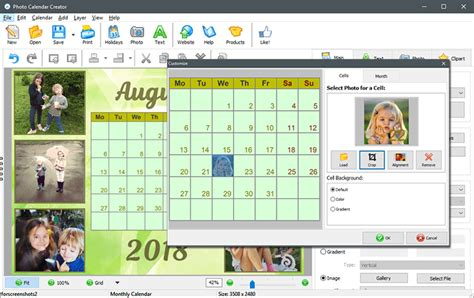 make your own printable calendar with photos custom printable calendar excellent gift idea for any