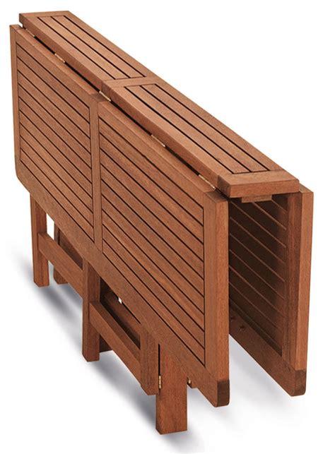 tavolo da giardino richiudibile tavolo richiudibile ed allungabile in legno keruing