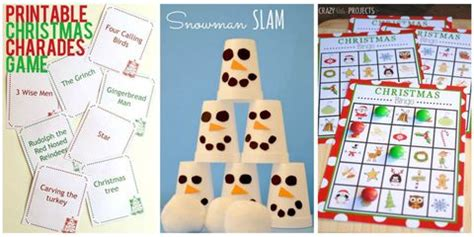 diy christmas party games for groups 17 for diy ideas
