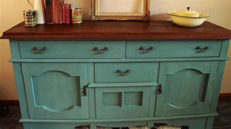 Using Chalk Paint On Kitchen Cabinets how i made over a sideboard using miss mustard seed s milk