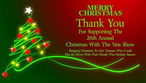 years christmas   vets show