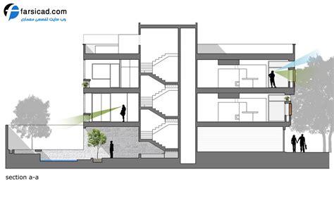 Hillside Floor Plans طرح و نقشه های ساختمان مسکونی بسیار زیبا در اصفهان نماهای
