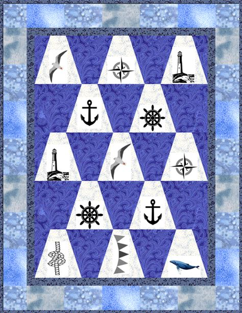 Free Nautical Quilt Patterns by Nautical Tumble Quilt Supply List Lyn Brown S Quilting