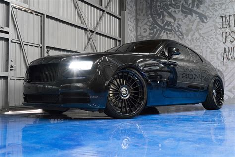murdered rolls royce wraith murdered out rolls royce wraith keeps the on the