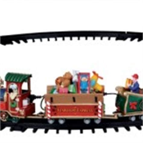 choosing a train set for your christmas village