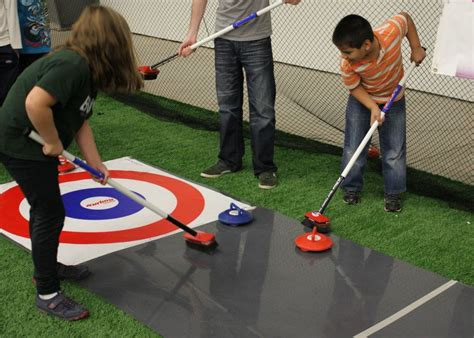 Curling Floor by Town Of Cornwall Offering Floor Curling At The For